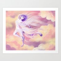 Sky Dancer Art Print