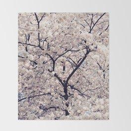 Cherry Blossom * Throw Blanket