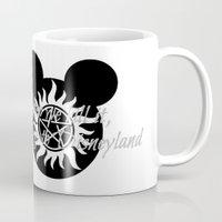 supernatural Mugs featuring Supernatural by kltj11