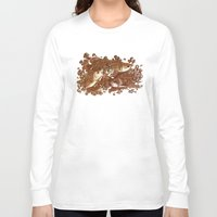 giants Long Sleeve T-shirts featuring Lucky Giants by KZjl