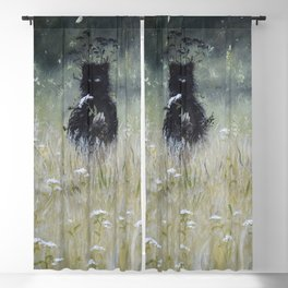 Nature Spirit - painting Blackout Curtain