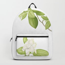 Gardenia Flower Backpack