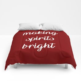 Making spirits bright Comforters
