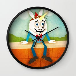 Humpty Dumpty Unicorn Wall Clock