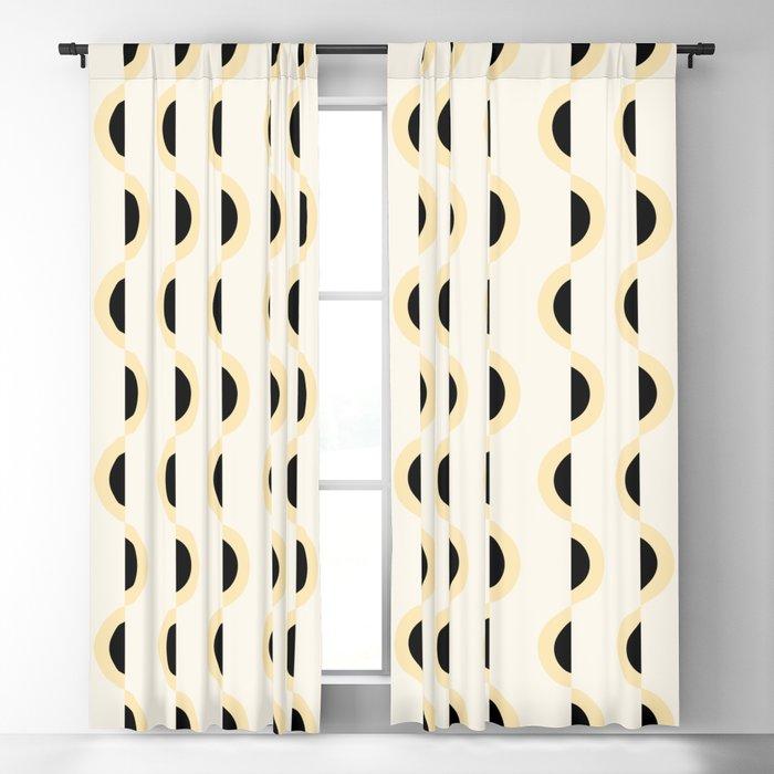 Gwynne Pattern - Canary Blackout Curtain