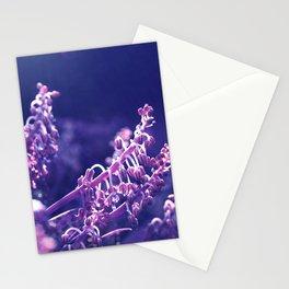 Pastel vibes floral V Stationery Cards