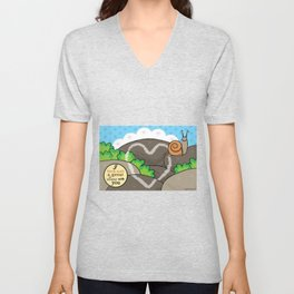Lovebugs -I have such a great slime with you Unisex V-Neck