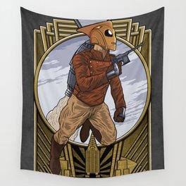 A rocket man. Wall Tapestry