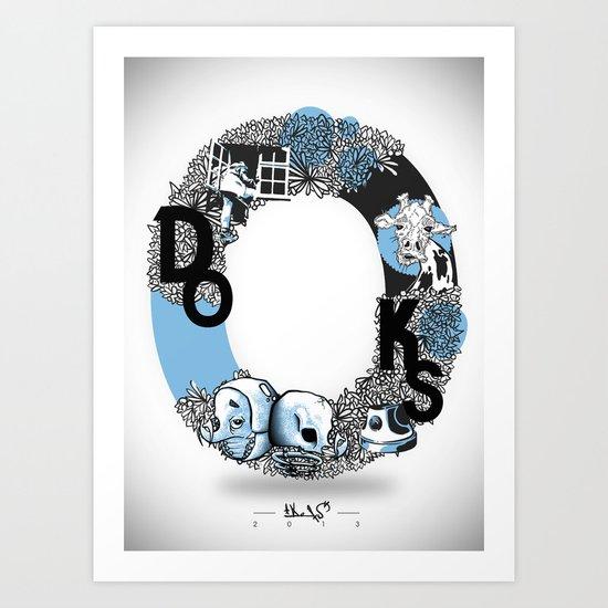 O DOKS Art Print