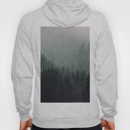 Mt Shasta Forest in Shades of Green Hoody