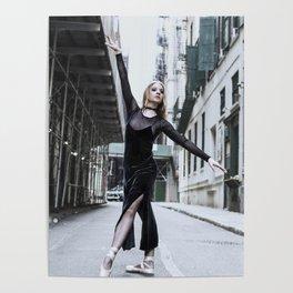 Grunge Ballet Poster