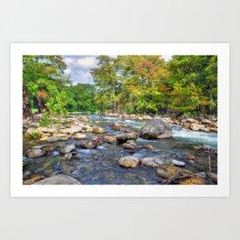 Guadalupe River Kunstdrucke