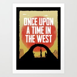Once Upon a Time in the West - Hanging Art Print