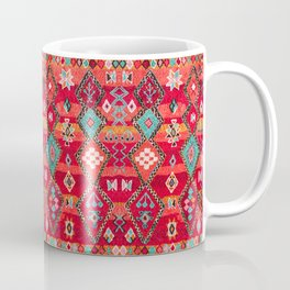 Epic Red Oriental Anthropologie Berber Atlas Moroccan Style Coffee Mug