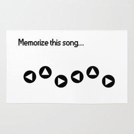 Memorize Zeldas Lullaby Rug