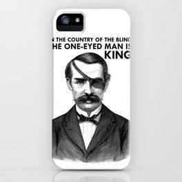 ONE-EYED KING  iPhone Case