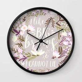 Big Brows – Spring Palette Wall Clock
