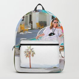 Poolside Girls in HESTER Backpack