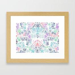 Tropical Geometry Framed Art Print