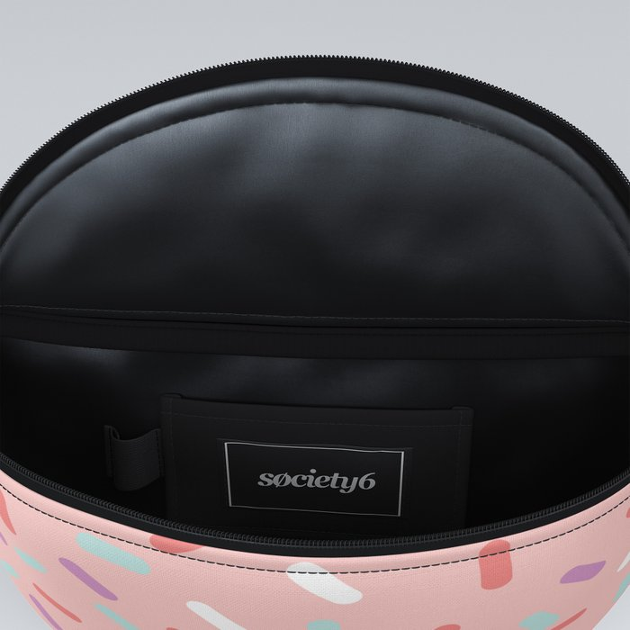 Pink Sprinkle Confetti Pattern Fanny Pack