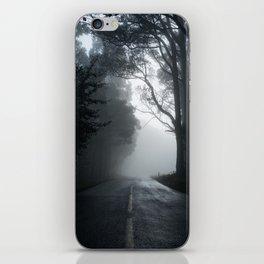 Smokey road iPhone Skin