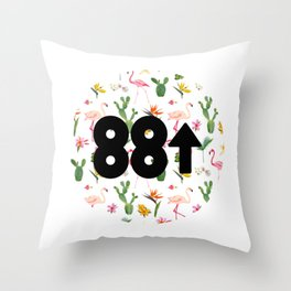 88rising Floral Throw Pillow