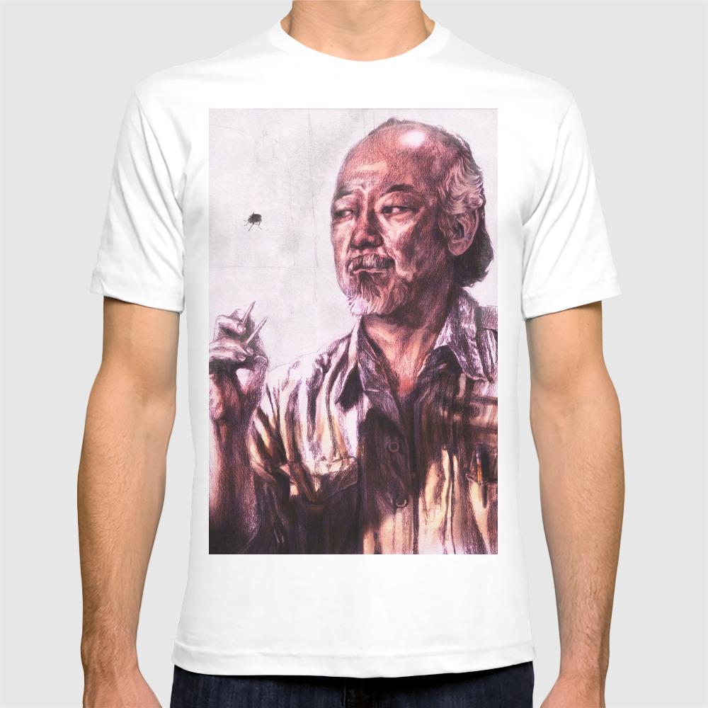 Mr. Miyagi From Karate Kid T-shirt by Aaronbir TSR1607600