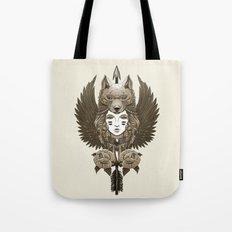 Native girl (light version) Tote Bag