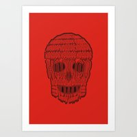 horror Art Prints featuring horror by creaziz