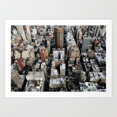 Empire State View 1. Art Print