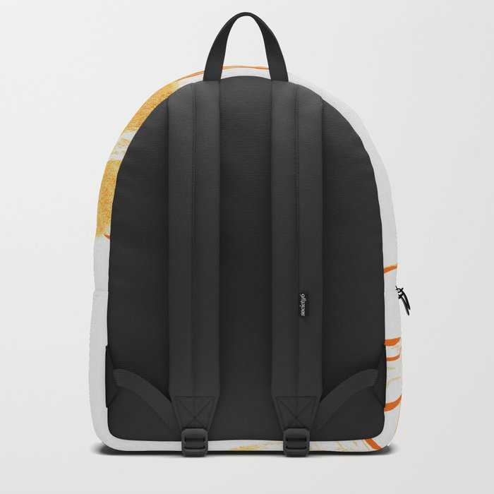 Bees in Balance - Orange Backpack