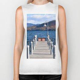 Lake George Pier Biker Tank