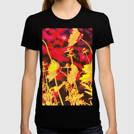 Blowing In The Wind Floral T-shirt