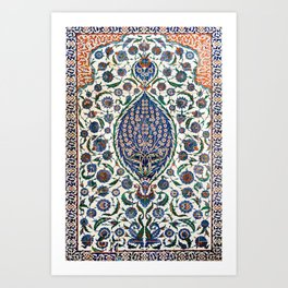 The Turbes of Hagia Sophia, Istanbul, Turkey Art Print