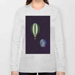 Vintage Space Ship Long Sleeve T-shirt