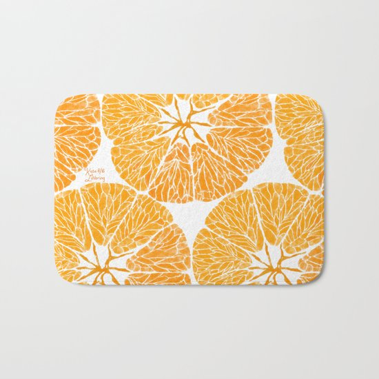 Orange you glad . . . Bath Mat