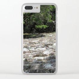 Mt. Tamalpais Amphitheater Clear iPhone Case