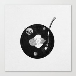 Let's play our favorite note. Canvas Print