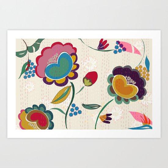 Nandi Art Print