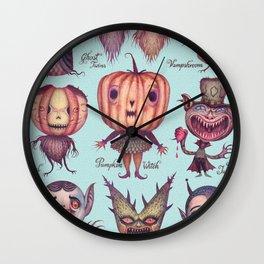 Happy Halloween! Wall Clock