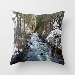 Burney Creek Throw Pillow