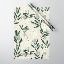 OLIVE BLOOM Wrapping Paper