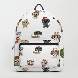 Christmas Puppies Backpack