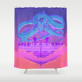 Kami's Lookout Shower Curtain