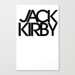 Classic : Jack Kirby Canvas Print