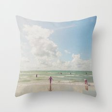 Nature's Playground Throw Pillow