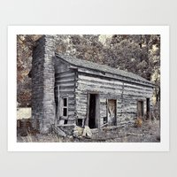 rustic Art Prints featuring Rustic by Mike Griffiths
