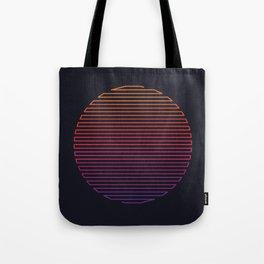 Linear Light Tote Bag