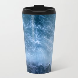 Waves from above Travel Mug