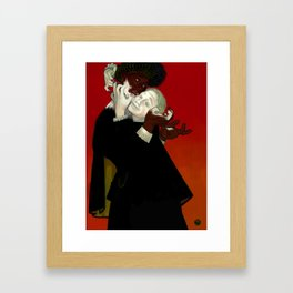 Othello and Iago Framed Art Print